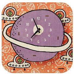 Handmade Children's Planet Clock