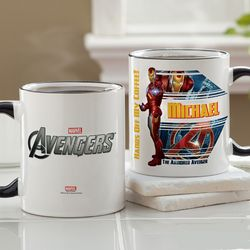 Personalized Avengers Coffee Mug