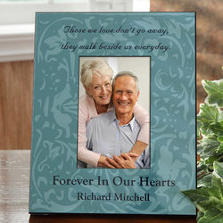 Forever In Our Hearts Personalized Memorial Frame