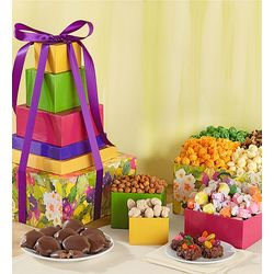 Garden Bunny 5-Tier Easter Sweets Tower