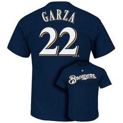 Youth's Milwaukee Brewers Matt Garza T-Shirt