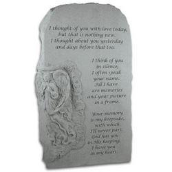 I Thought of You Memorial Angel Obelisk