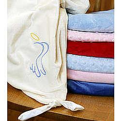 Angel Hugs Knotted Blanket