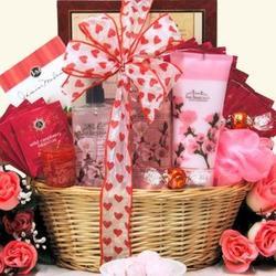 Cherry Blossom Spa Retreat Valentine's Day Spa Gift Basket