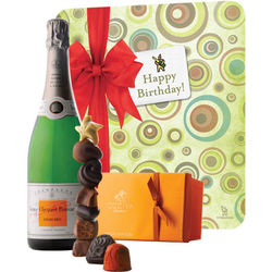 Veuve Clicquot Happy Birthday with Demi-Sec & Godiva Chocolates