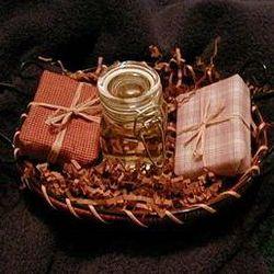 Bath Soap and Eucalyptus Oil Gift Basket