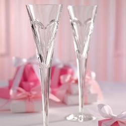 Waterford Love and Romance Toasting Flutes
