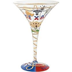 Texas-tini Martini Glass