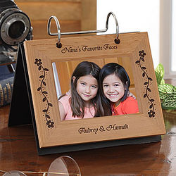 Her Favorite Faces Personalized Photo Flip Album