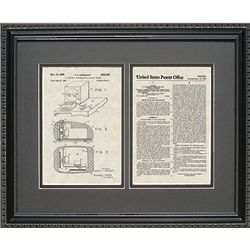 Computer Mouse 16x20 Framed Patent Art