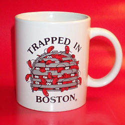 Trapped in Boston Mug