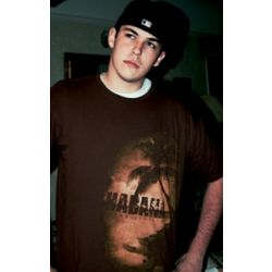 Men's Brown Habana Beach T-Shirt