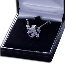 Chelsea Crest Pendant and Chain