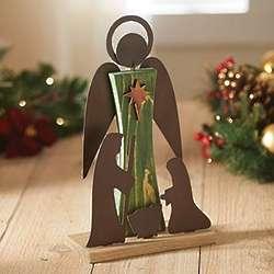Folk Art Nativity Scene