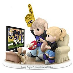 Every Day is a Touchdown with You Raven's Fan Figurine