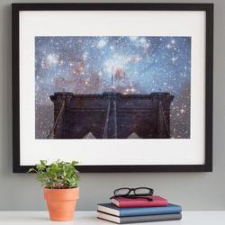 Starry Night Brooklyn Bridge Print
