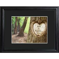 Personalized Framed Tree of Love Print
