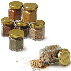 Magnetic Organic Grilling Spice Set