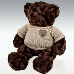 Extra Large Brown Teddy Bear Cremation Urn