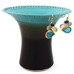 Handmade Ceramic Stoneware Earring Holder