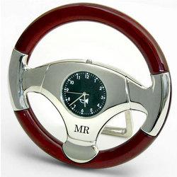 Personalized Steering Wheel Clock