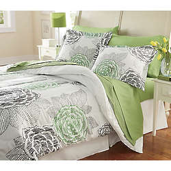 Rosebloom Queen Comforter Set