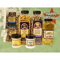 Birthday Greetings Popcorn Gift Box
