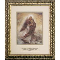 Guardian Angel Framed Art Print
