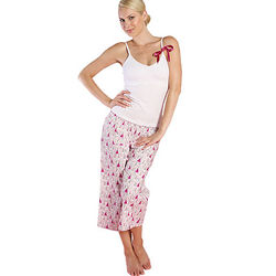 Bridal Cami and Pant PJ Set