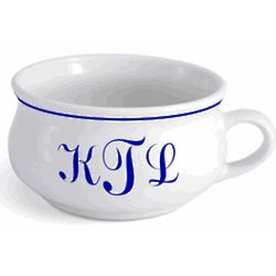 Personalized Monogrammed Soup Mug