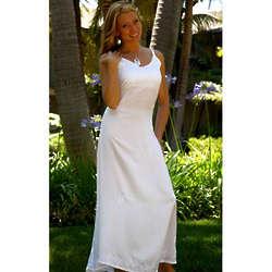 Lined Beach Wedding Dress