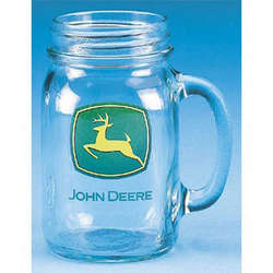 John Deere Drinking Jar