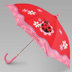 Ladybug Personalized Girl's Umbrella
