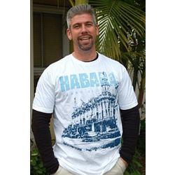 Men's White Habana Street T-Shirt