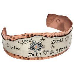 Live Full Cuff Bracelet