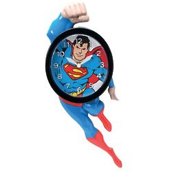 Superman Action Hero Wall Clock