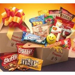 Treats for Troopers Military Care Package - Medium