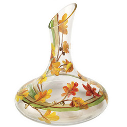 Fall Leaves Wine Decanter