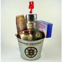 Boston Bruins Pail Gift Set