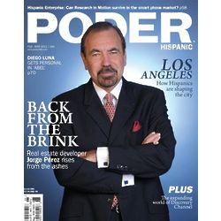 Poder Hispanic Magazine Subscription - 6 Issues