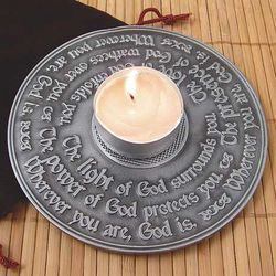 Light of God Candle Ring