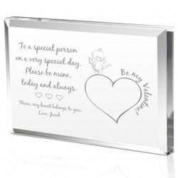 Personalized Cupid Valentine's Day Plaque