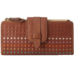 Tate Leather Clutch