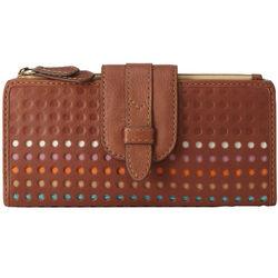 Tate Leather Clutch