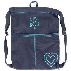 True Blue Cinch Sack Backpack