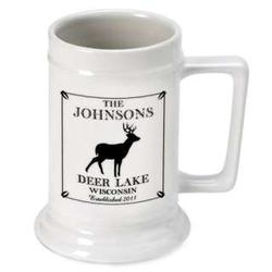 Personalized Stag Stein