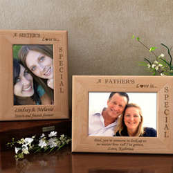 Personalized Your Love is Special Wooden Picture Frame