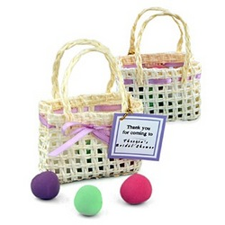 Springtime Mini Woven Favor Bag