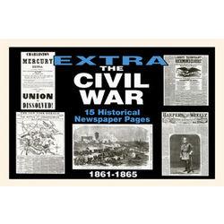 Historic Civil War Newspaper Compilation