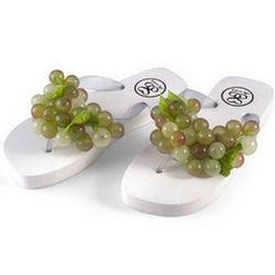 Green Grape Sandals